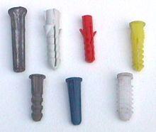 plastic concrete anchors
