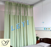 LY-8 Polyester Grass Green Color LY Hospital Curtain/Hospital Privacy Disposable Curtain Fabric