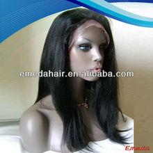 5A cheap raw brazilian virgin hair black men lace front wigs