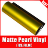 TSAUTOP RoHS certificate Air free Bubbles 1.52*20M Matt Pearl Matt Chrome car wrap film