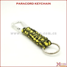 factory direct sales the newest paracord key fob