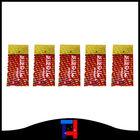 Plastic colored heat shrink wrap film, custom design & size, EXCLUSIVE LASER effect