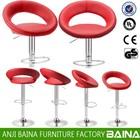 Cheap PU leather breakfast bar stool bn-1008-1