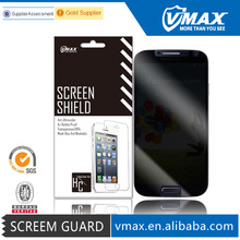 180 Degree / 360 Degree 3M privacy screen protector for Samsung galaxy s4 em/odm (High Clear)