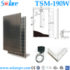 Cheap solar panels china 190W monocrystal solar panel for home system