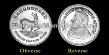 1 Gram 2012 Krugerrand pure Silver Coin for sale