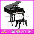2014 novo brinquedo de madeira de piano, popular de madeira de piano de brinquedo, venda quente de madeira brinquedo piano w07c014