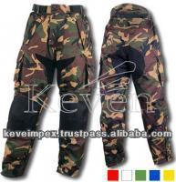 alta qualidade de cor de camuflagem calças impermeáveis para o exército