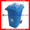 High Qulity 2 Wheels Plastic Industrial Waste Bins