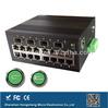 Industrial gigabit 3 port ethernet switch for CCTV , multi connectors