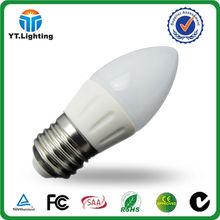 3w E27 Led Candle Lamp E14 Dimmable Low Voltage E14 Led Candle Bulb E14