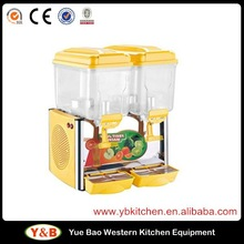 Commercial Stainless Steel Fruit Juice Dispenser /Cold Drink Machine With Imported Compressor