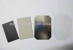 wonderful 53*80mm metal blank fridge magnet