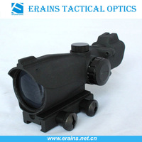Tactical close combat 2x42 red and green dot sight red dot riflescope with 2x magnification