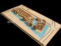 منتج جديد من مبنى سكني نموذج خشب المنزل