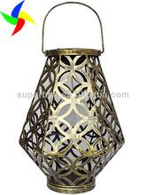 Outdoor Decorative Metal Lanterns Metal Hanging Light