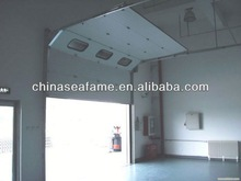 Hot sale vinyl garage doors