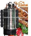 Vertical electric bbq grill com 5 pcs espetos-- máquina grill em casa