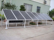 3KW 5kw solar power panel system with easy installation /10kw solar panel mounting bracket system