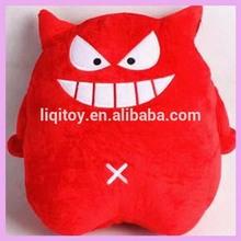 Hot sales Cute soft plush stuffed toy red little devil