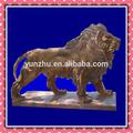 Passeio animal escultura do leão, andar leão estátua