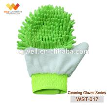 WST-017Car Washer Type microfiber mitten/car wash mitt