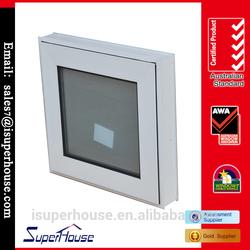 Double sash casement aluminium window factory