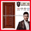 Wooden laminated veneer doors popular for Dubai market