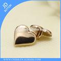 jinda accessoires de haute qualité dames shirt en forme de coeur en métal fantaisie bouton à coudre