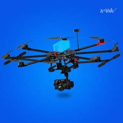 carbon fiber professional drone rc multicopter X750 with GPS for aerial photography vs dji S800 S900