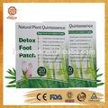 adhesivo de la eliminación de las toxinas del cuerpo y parches de desintoxicación pie