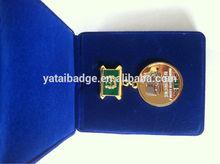 soft enamel glossy medal souvenir