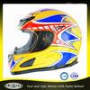 DOT Adult custom white motorcycle full face helmets B38