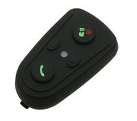New Motorcycle Helmet Bluetooth Headset No Intercom No FM Helmet Interphone via Bluetooth