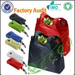Various portable promotional foldable nylon bag for shopping