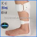 /ce de la fda de plástico ajustable del tobillo férula brace
