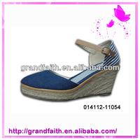 Trustworthy China Supplier Summer Fancy Low Price Ladies Sandals 2015