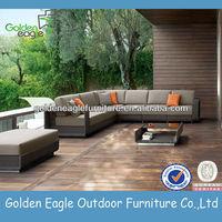 Comfortable aluminium Outdoor garden Rattan furniture