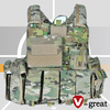 Desert style Tactical Vest with Magazine Pouch