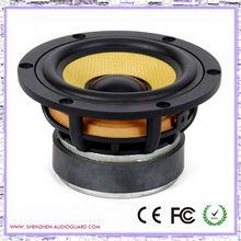 "mid bass speaker, 4"" kevlar cone aluminum die cast woofer ,good quality woofer"