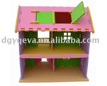 funny EVA foam baby house furniture toys
