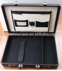 Pro Black Aluminum Laptop Case