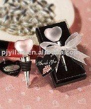 nice heart shape crystal wine stopper