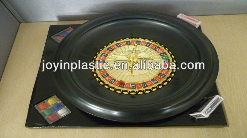 16inch casion russian roulette set/roulette game set/roulette