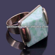 China Manufacturer Unique Fashion Turquoise Ring