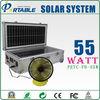55W Portable solar generator