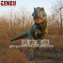 Equipamento do parque de diversões modelo de dinossauro T - rex