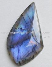 54x32x6mm Labradorite Semi Precious Stone Cabochon