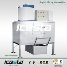(0.5T/24hrs) ICESTA snow flake ice making machine with best refrigerant solenoid valve