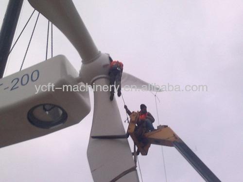 Stu200 200KW gerador de turbina eólica